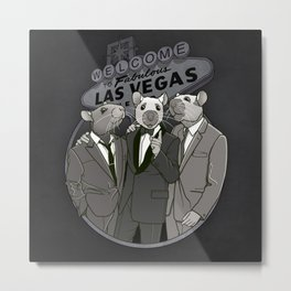 Rat Pack Metal Print