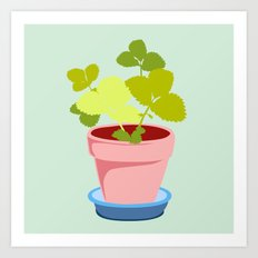 Young Strawberry #2 Art Print