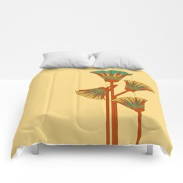Ancient Egyptian lotus - Colorful Comforters