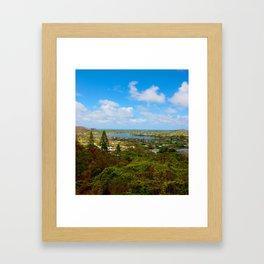 Scenic Kailua Framed Art Print