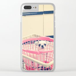 Washateria Days Clear iPhone Case