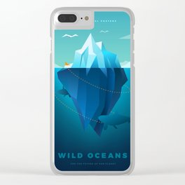 Wild Oceans Clear iPhone Case