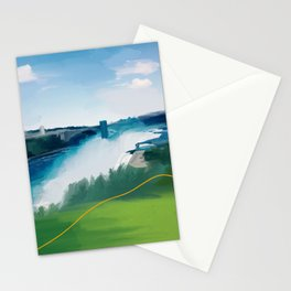On The Other Side Of Niagara Falls Stationery Cards