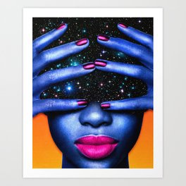 Deep Space Art Print