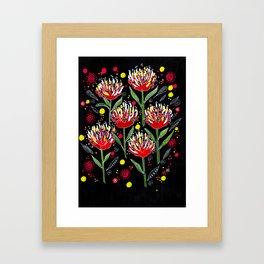 Protea Magic Framed Art Print