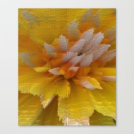 Yellow Mellow Canvas Print