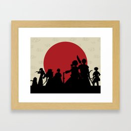 Yona of the Dawn Minimalist Framed Art Print