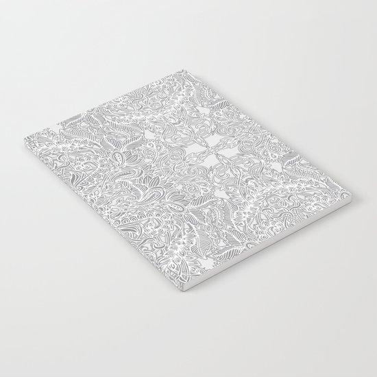 Frost & Ash - an Art Nouveau Inspired Pattern Notebook