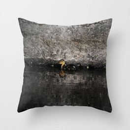 The little anatinae Throw Pillow