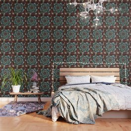 Graphic Design, Modern Fractal Art Pattern Wallpaper