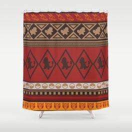 Poke Tribe (Southwest) Shower Curtain