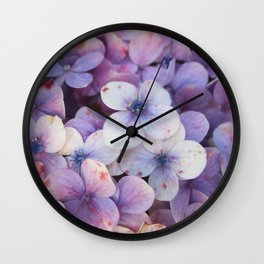 Blossom Purple Wall Clock