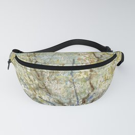 Orchard with Blooming Apricot Trees Fanny Pack