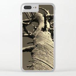 methuselah Clear iPhone Case