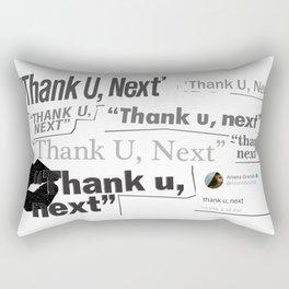 Thank you next - galaxy lips Rectangular Pillow