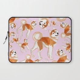 Akita Inu (Pattern) Laptop Sleeve