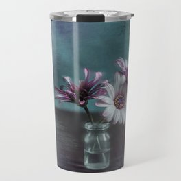 Dasies in vial Art Travel Mug