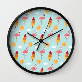 Summer is in the air Wall Clock