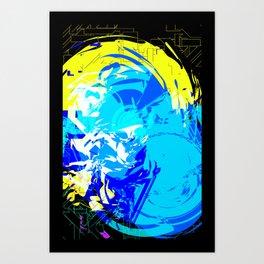 DON'T-ASK-ME--HAHA 3 Art Print