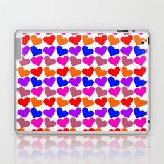 Colorful Hearts Pattern Laptop & iPad Skin