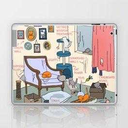 Cat Lady's Home Laptop & iPad Skin