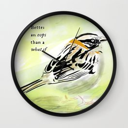 A little bird told me Wall Clock