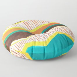 Malibu, 1972 Floor Pillow