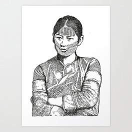 Atayal Woman Art Print