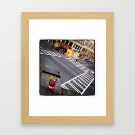 5th & Tryon Framed Art Print