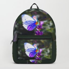 Butterfly on the Lavender Backpack