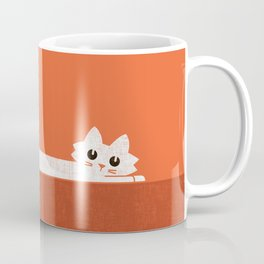 Mark's Superpower: cat Superstretch Coffee Mug