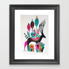 Move house Framed Art Print