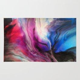 Sky Walker - Original Abstract Painting Rug