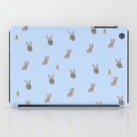 rabbits iPad Cases featuring Rabbits by Dodds n' Ends Design