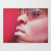 model Canvas Prints featuring Model by Azeez Olayinka Gloriousclick