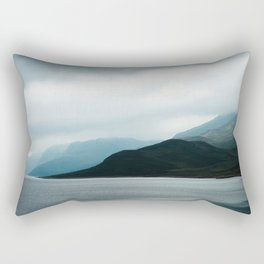 Lake Bygdin, Jotunheimen, Norway Rectangular Pillow