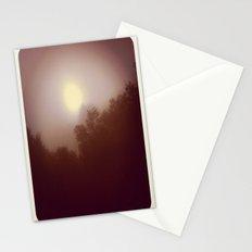 Foggy Autumn Morning Stationery Cards