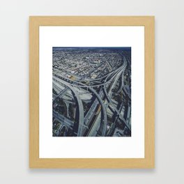 Above the chaos Framed Art Print
