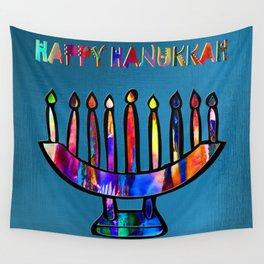 Happy Hanukkah! Wall Tapestry