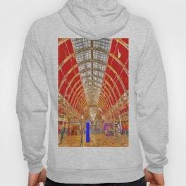 Paddington Railway Station Pop Art Hoody