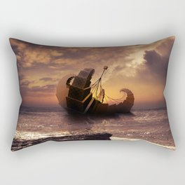 A Ship for All Destinations Rectangular Pillow