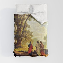 Road To Emmaus Comforters