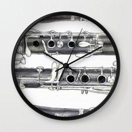 Klarinette Wall Clock