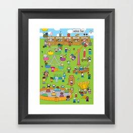 Oekie Fair Framed Art Print