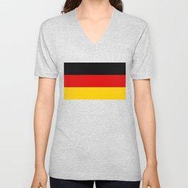 Flag of Germany - German Flag Unisex V-Neck