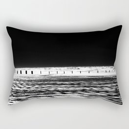 The Out-going Tide Rectangular Pillow