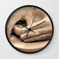 arsenal Wall Clocks featuring Working Hands by Brian Raggatt