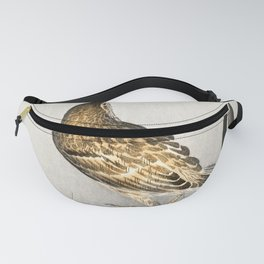Ohara Koson - Pipit on a waterfront Fanny Pack