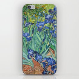 Irises - Vincent Van Gogh iPhone Skin