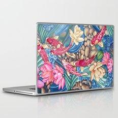 Koi Pond Laptop & iPad Skin
